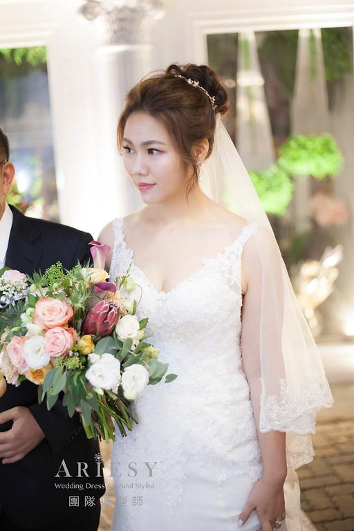 新娘祕書,編髮造型,歐美風新娘,新祕,新娘造型,證婚白紗造型,推薦新祕