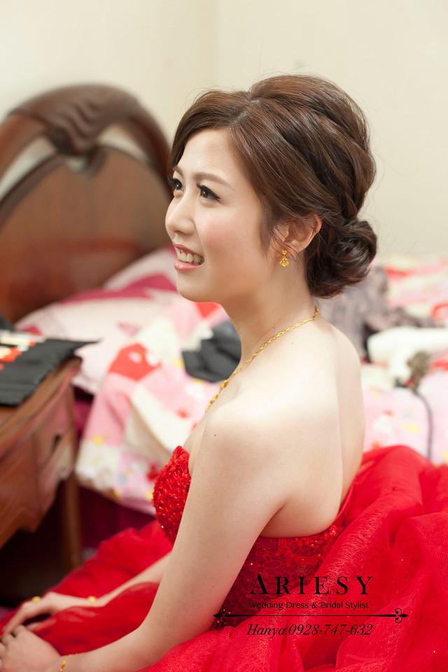 歐美風新娘造型,新娘髮型,台北新秘,新秘推薦,Bride