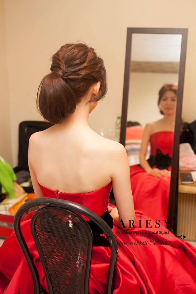歐美風新娘造型,新娘髮型,台北新秘,新秘推薦 ,Bride