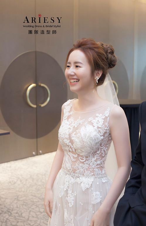 白紗造型,蓬鬆編髮造型,歐美風造型,新祕,新娘造型,迎娶造型