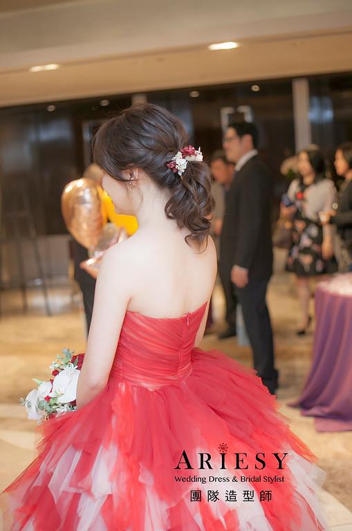 送客小捧花,編髮造型,新娘造型,新娘祕書,新祕,新祕推薦,花藝新祕