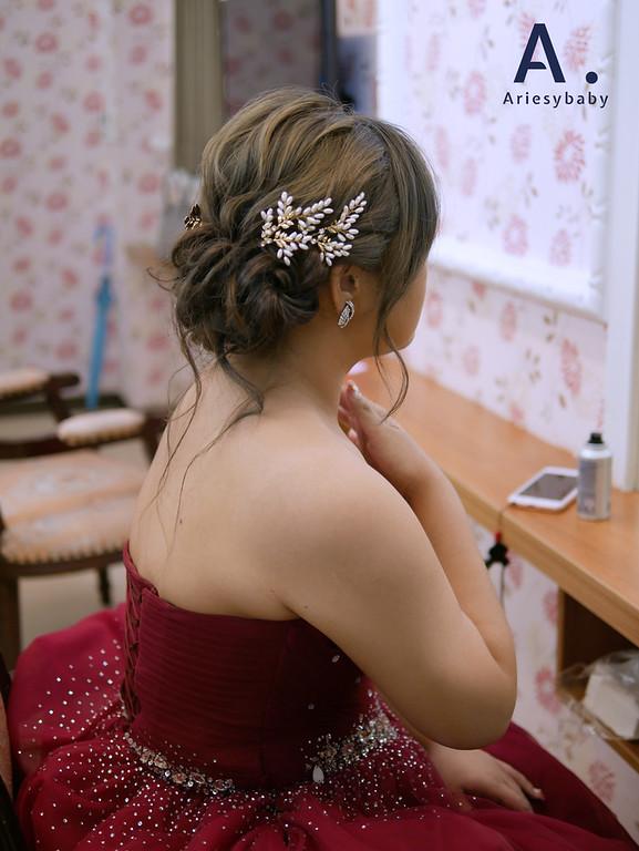 新娘祕書,新祕, Ariesybaby造型團隊,新娘造型,編髮造型