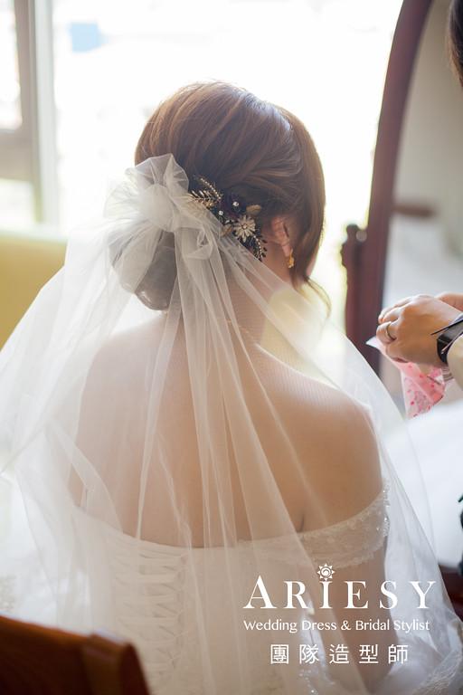 新娘妝感,編髮新秘,迎娶髮型,新娘妝感,新娘髮型