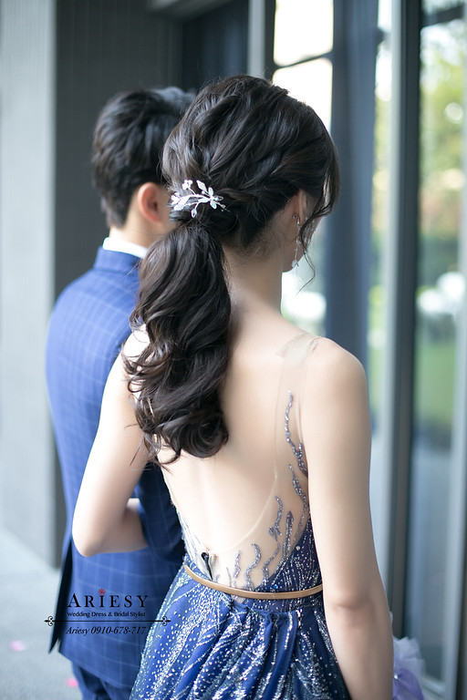 第九大道晚禮服,新娘秘書,台北新秘,新秘手工飾品,ARIESY,愛瑞思