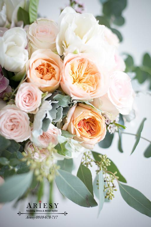 新娘捧花,愛瑞思鮮花,ariesy,繽紛捧花,BOUQUET,新秘