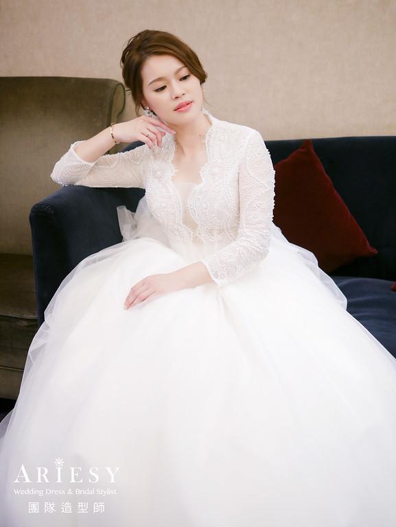 白紗進場髮型,新娘編髮造型,鮮花造型,新秘花藝