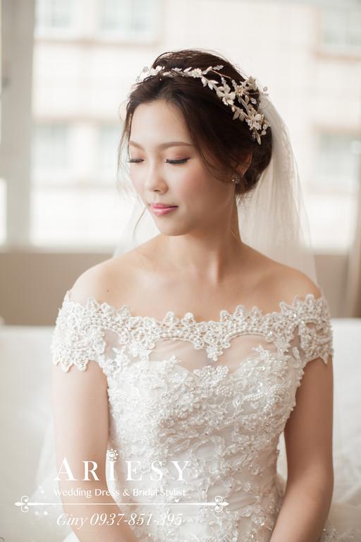 台北新秘,推薦新秘,鮮花造型,新娘秘書,時尚造型