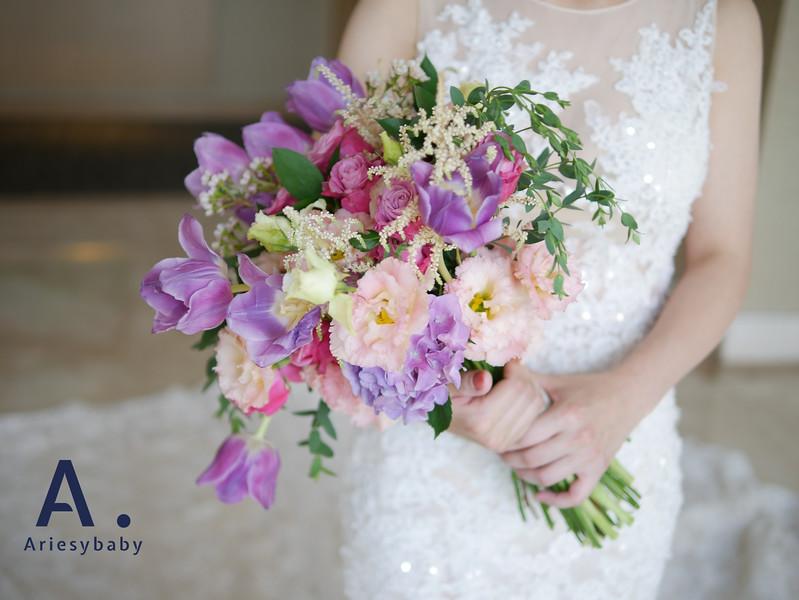 專屬新娘訂製捧花,Ariesybaby造型團隊,新娘捧花,手作鮮花捧花,客製化捧花