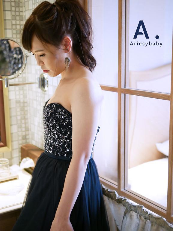 敬酒造型,新娘髮型,Ariesybaby造型團隊,ARIESY愛瑞思品牌訂製手工婚紗,新娘秘書
