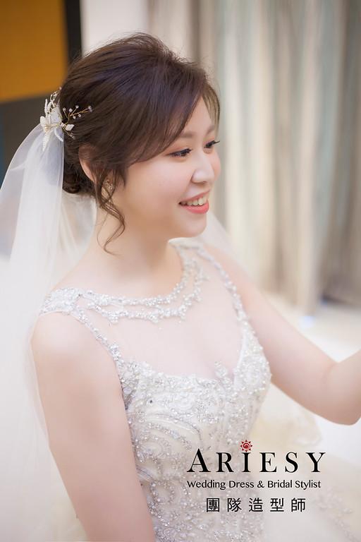 宜蘭新祕,新娘秘書,新娘造型,編髮新祕,白紗造型,自然清透妝感,新娘髮型,編髮造型