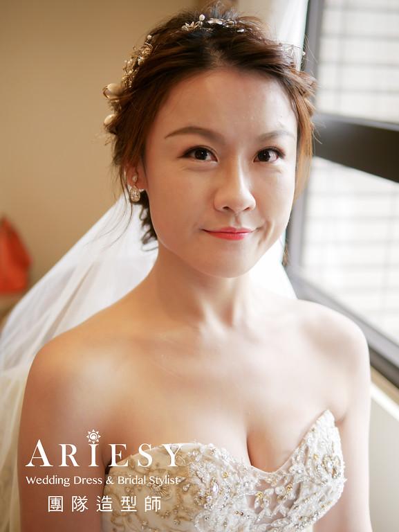 迎娶髮型,新秘編髮,新娘妝感,新娘髮型,新娘秘書推薦