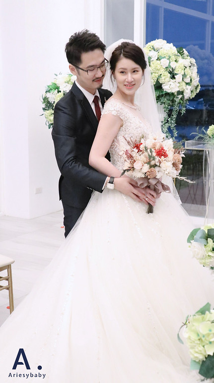 Ariesybaby造型團隊,時尚妝感,新娘祕書,新娘造型,新祕,戶外證婚造型,白紗造型