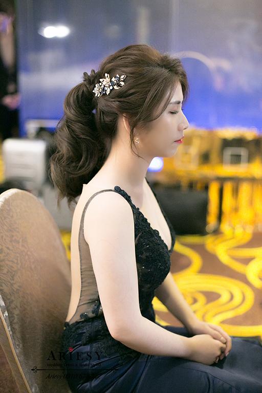 馬尾新娘造型,新娘秘書,歐美新秘,愛瑞思,台北新秘,歐美新娘造型
