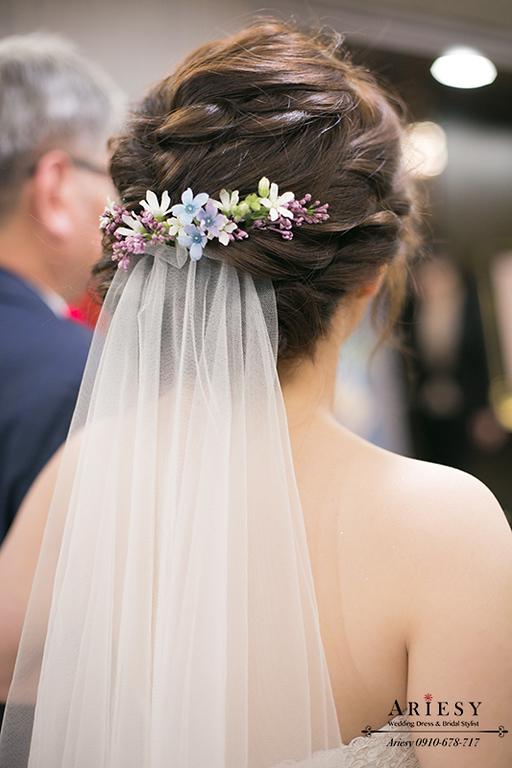 新娘秘書,新秘,愛瑞思,新娘捧花,和璞婚禮,鮮花新秘
