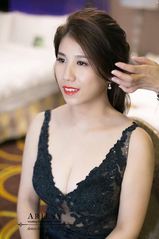 馬尾新娘造型,歐美新娘秘書,新秘,愛瑞思,台北新秘,歐美新娘造型