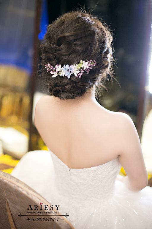 歐美新娘秘書,新秘,愛瑞思,新娘捧花,和璞婚禮,鮮花新秘