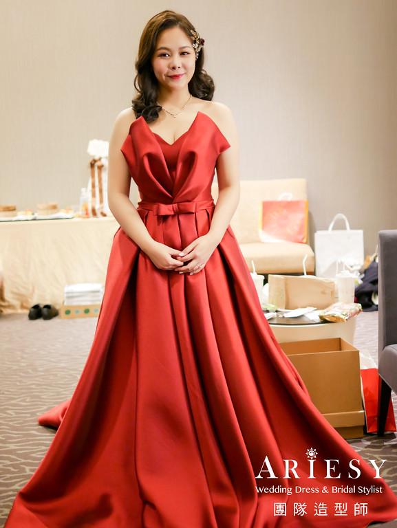 台北新秘推薦,送客造型,清透妝感,短髮造型,時尚造型