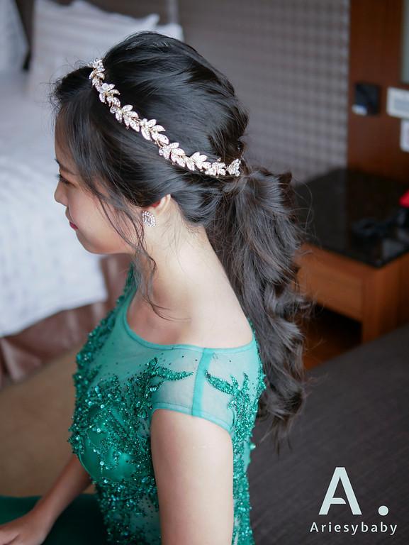 新娘祕書,新祕, Ariesybaby造型團隊,新娘造型,黑髮造型