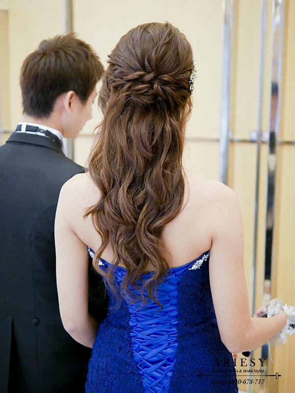 新秘,新娘秘書,台北新秘,愛瑞思,新娘髮型,ARIESY