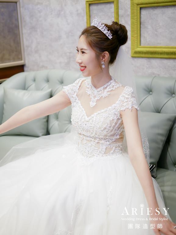 進場髮型,宴客捧花,台北新秘,新娘髮型,維多麗亞酒店