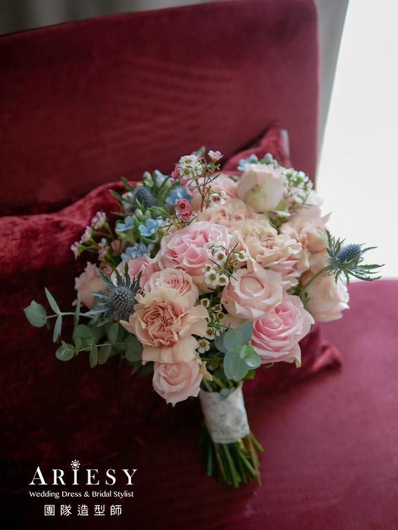 宴客捧花,客製捧花,捧花訂製,新秘花藝