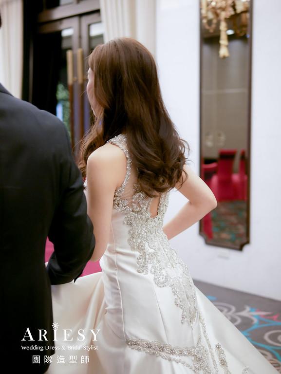 送客髮型,放髮造型,時尚造型,新娘造型,台北新秘