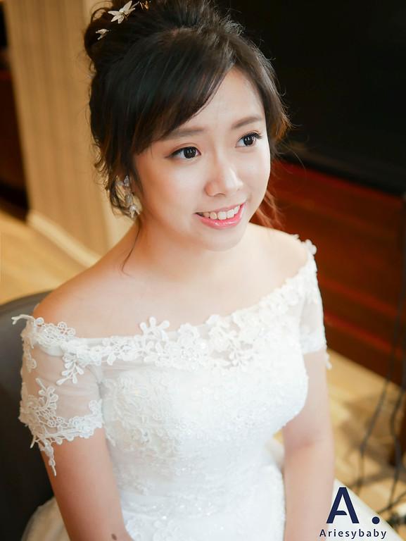 Ariesybaby造型團隊,ARIESY愛瑞思品牌訂製手工婚紗,花藝新娘造型,新祕,新娘祕書,盤髮造型