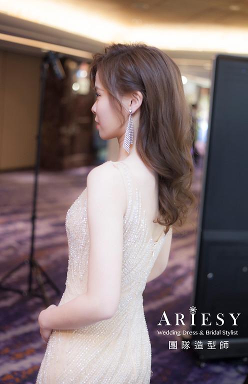 台北新祕,新娘秘書,新娘造型,送客造型,新娘放髮,新娘髮型,新祕,推薦新祕