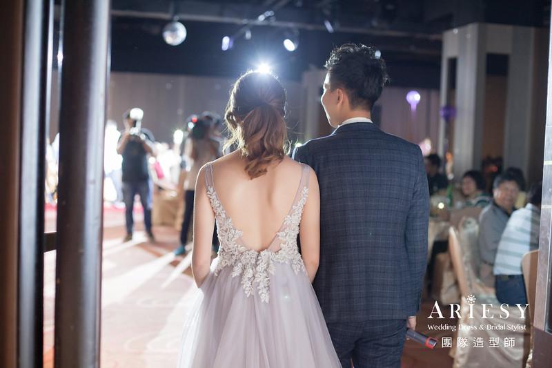 敬酒造型,馬尾造型,新秘,新娘自然妝,時尚新娘造型