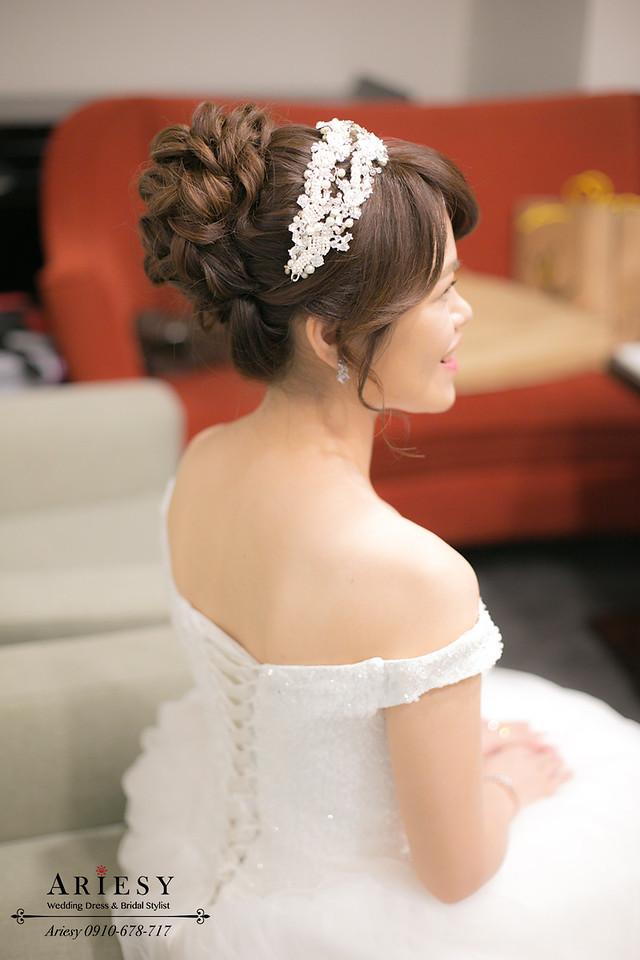 新娘秘書,台北新秘,新娘捧花,歐美捧花,新娘造型,新娘髮型