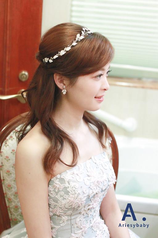 公主新娘髮型,新娘髮型,新秘娘書,新秘作品,Ariesybaby新秘團隊