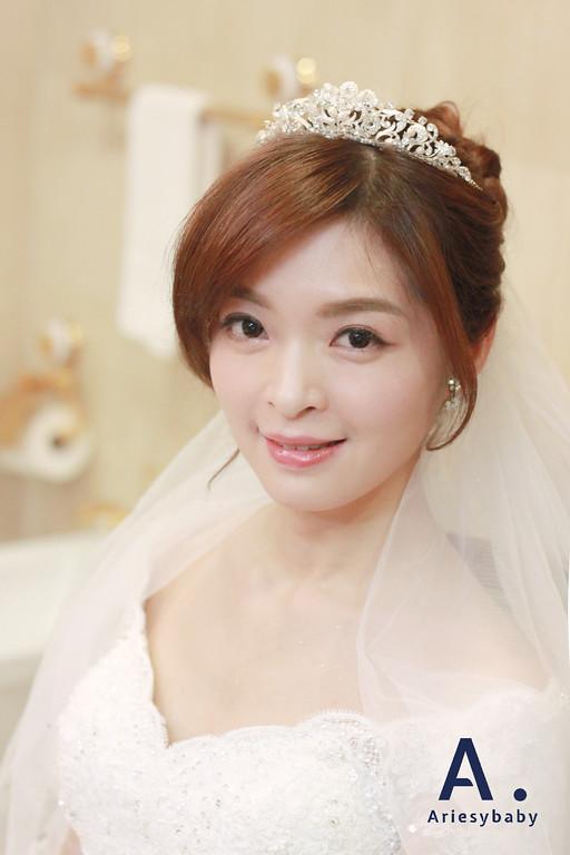 白紗造型,新娘髮型,新秘娘書,新秘作品,Ariesybaby新秘團隊