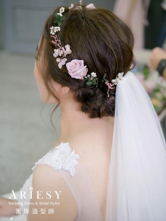 證婚髮型,新娘造型,新娘花藝造型,新秘花藝,新秘推薦