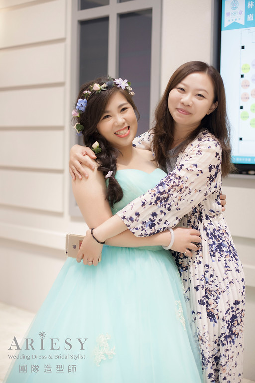 送客造型,新秘編髮,新秘花藝,新娘鮮花造型,台北新秘