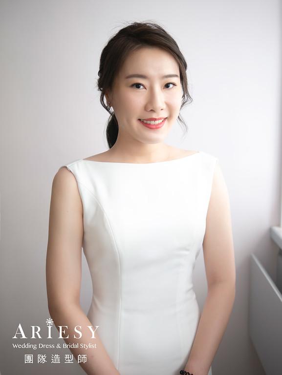 新秘推薦,台北新秘,白紗新娘造型,新娘推薦,新娘秘書