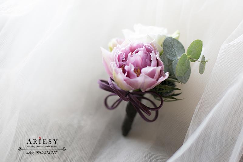 新郎胸花,新娘捧花,美式婚禮,美式新郎,美式胸花,婚禮胸花