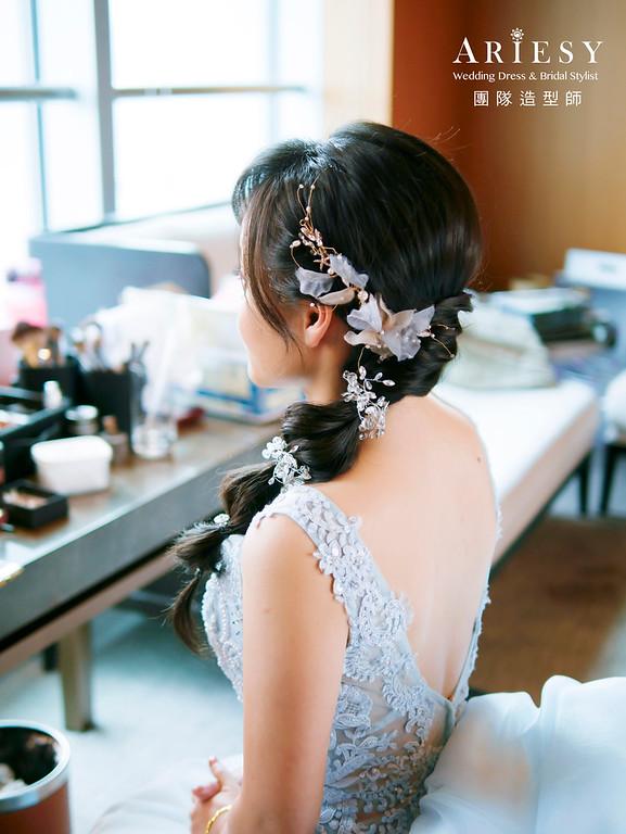 自然清透妝感,黑髮新娘,甜美風格,新秘,新娘秘書