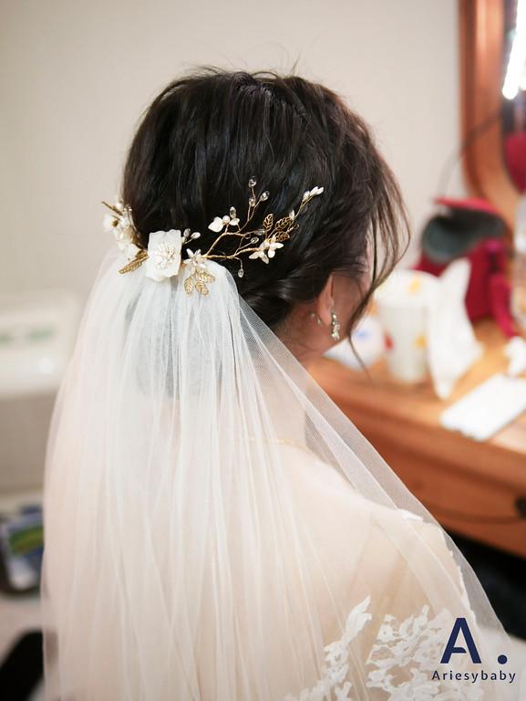 新祕,新娘祕書,迎娶造型,黑髮新娘造型,Ariesybaby造型團隊,編髮造型