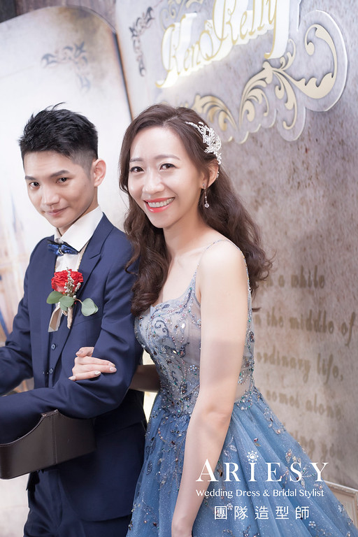 台北新祕,新娘秘書,新娘造型,新娘編髮,送客造型,自然清透妝感,新娘髮型,時尚造型,推薦新秘