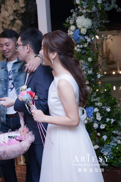 台北新祕,新娘秘書,新娘造型,新娘編髮,白紗造型,自然清透妝感,新娘髮型,新娘編髮造型,推薦新秘