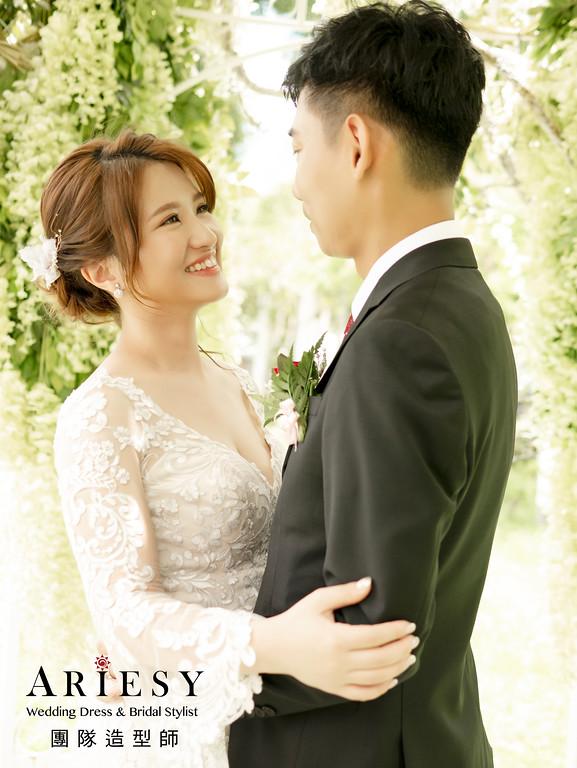 新秘推薦,台北新秘,花藝新娘造型,新娘推薦,新娘秘書
