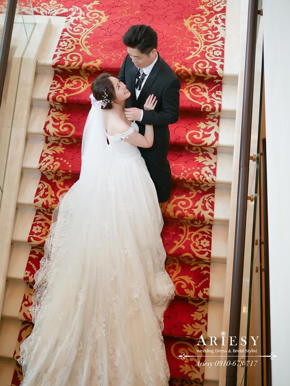 新娘秘書,超美自然輕透新娘妝感,鮮花新秘,台北新秘,大倉久和白紗造型,ARIESY愛瑞思