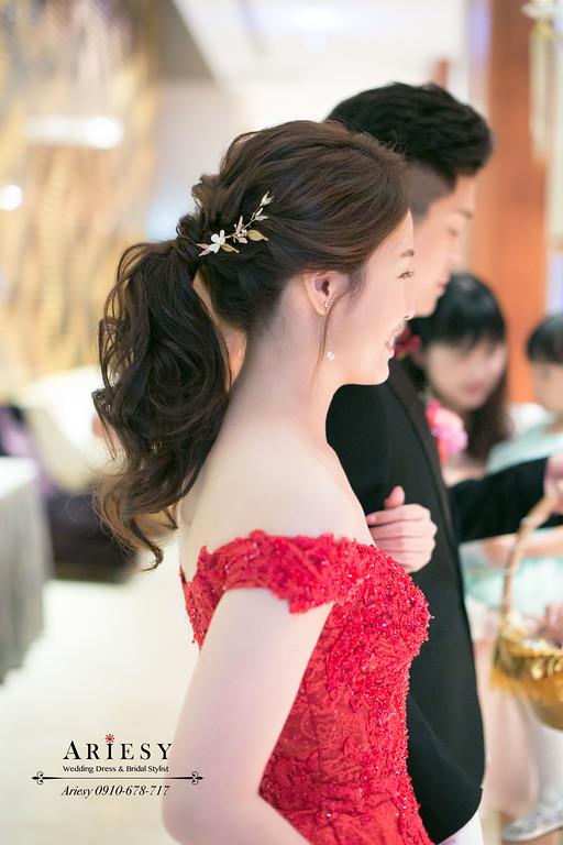 新娘秘書,超美自然輕透新娘妝感,敬酒造型,台北新秘,大倉久和婚宴,愛瑞思新秘