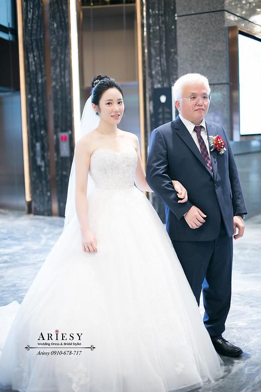 韓系新娘清透妝感,愛瑞思,ARIESY,新娘秘書,台北新秘,韓風新秘推薦