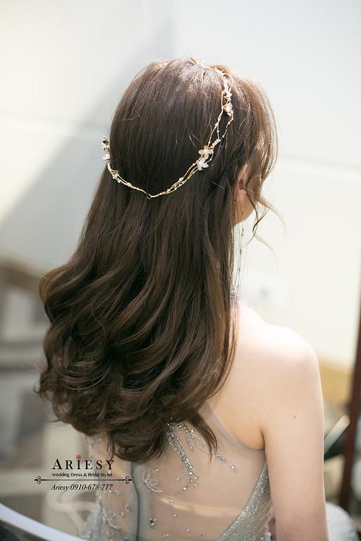 時尚新娘造型,新娘秘書,新秘,台北新秘,新娘髮型,愛瑞思,ariesy