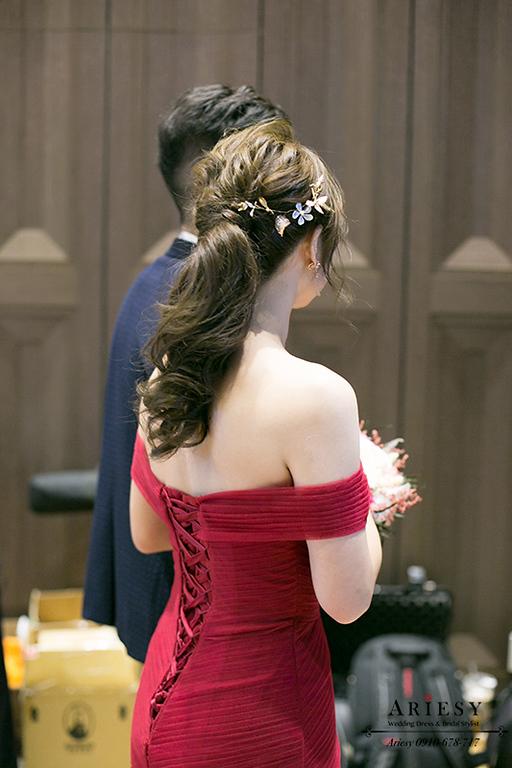 新娘秘書,台北新秘,台中新秘,新娘秘書推薦,愛瑞思,敬酒造型