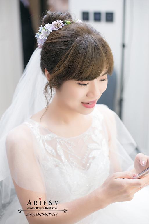 鮮花新秘,新娘秘書,台北新秘,台中新秘,新娘秘書推薦,訂製新娘捧花