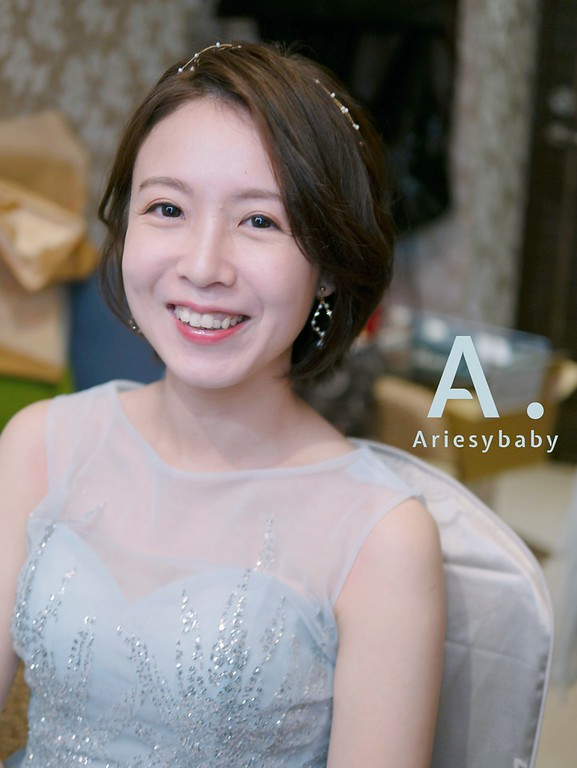 ARIESY 愛瑞思品牌訂製手工婚紗,Ariesybaby 團隊,新秘,新娘秘書,短髮新娘造型,新娘髮型