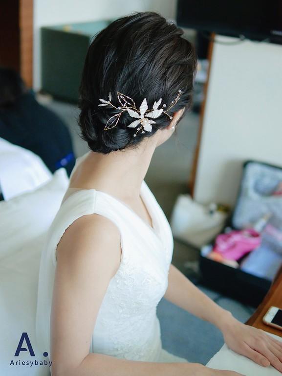 新娘秘書,歐美風新娘造型,黑髮造型,新秘推薦,新娘妝感