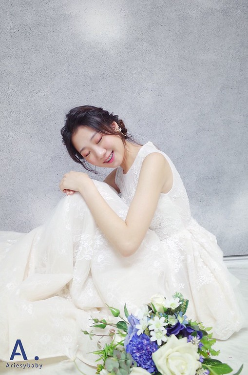 新娘秘書,白紗造型,編髮造型,新娘妝感,日系妝感